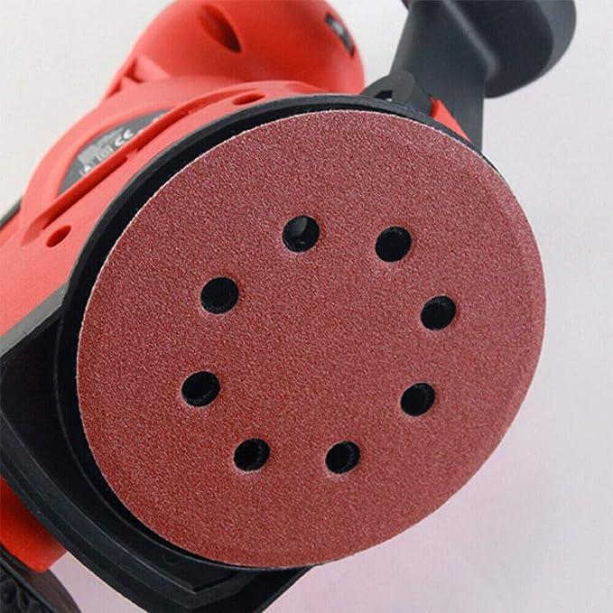 para madera y metal pulir y desenrodar 10 discos de lijado P40-P3000,10 unidades de 125 mm para lijar