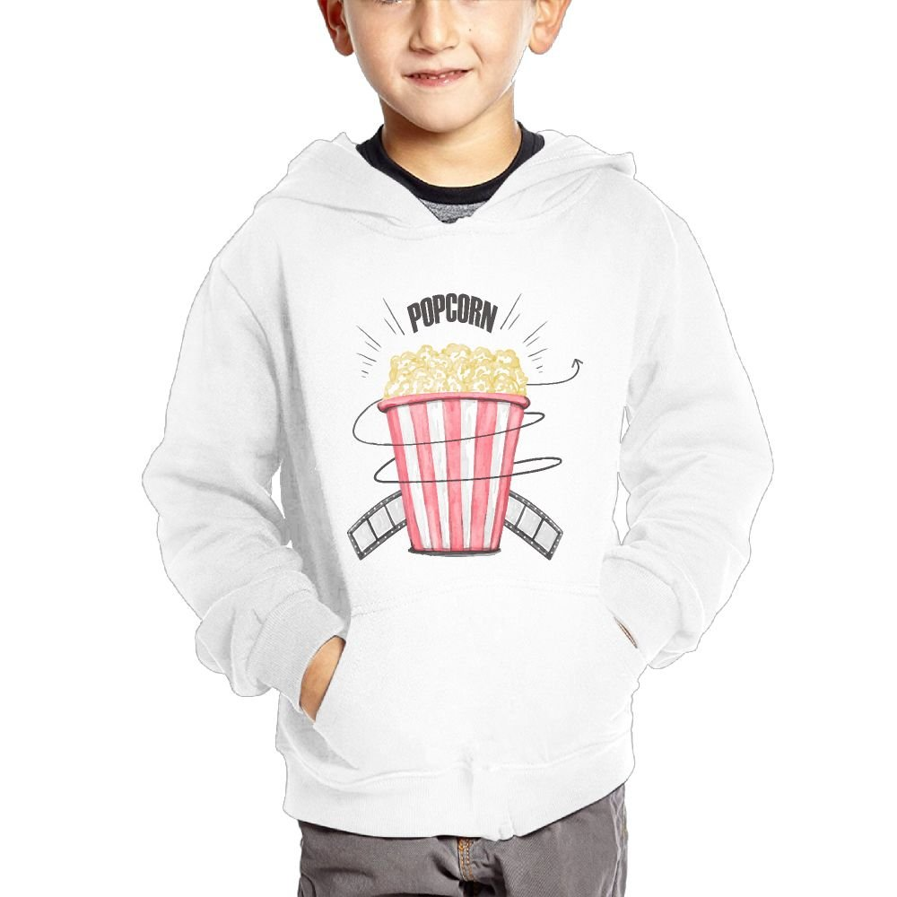 JIANGSHAN Popcorn Breathable Hooded Pocket Sweater for Children Spring//Autumn//Winter Outfit Long-Sleeved Hoodie