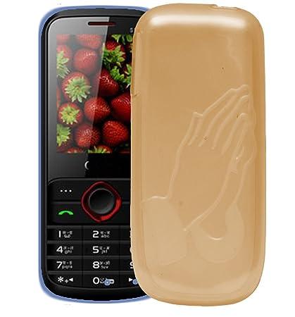 release date: 31b33 895ed Samsung Guru E1200 Case,Orange Soft, Lightweight,Shock: Amazon.in ...