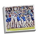 "MLB Kansas City Royals Wild Card Berth Celebration 2014 Stretched Canvas Photograph, 22"" x 26"""