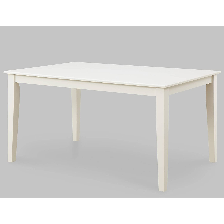 Better Homes and Gardens Bankston Rectangle 6-Person Dining Table, 58.5 L x 35.5 W x 30 H Espresso Espresso