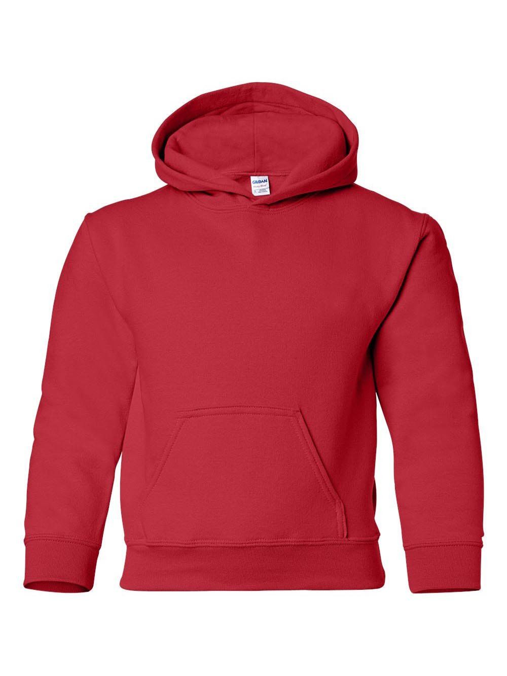 Gildan - Heavy Blend Youth Hooded Sweatshirt - 18500B by Gildan
