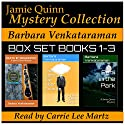 Jamie Quinn Mystery Collection: Box Set Books 1-3 Audiobook by Barbara Venkataraman Narrated by Carrie Lee Martz