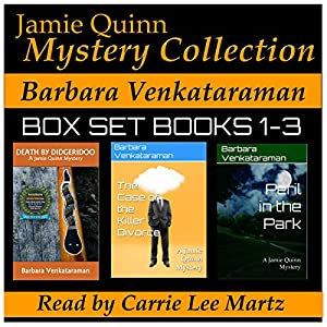 Jamie Quinn Mystery Collection: Box Set Books 1-3 Audiobook