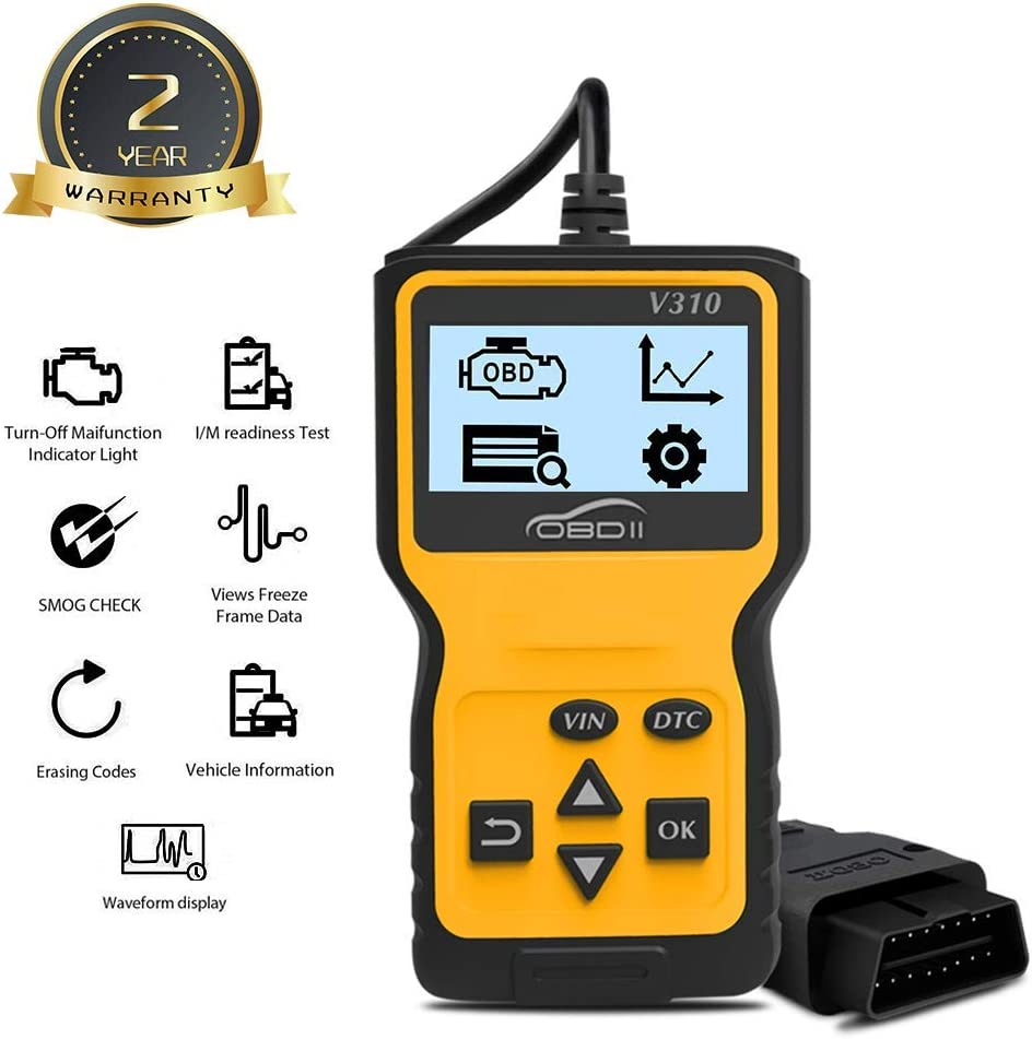 Bestda EU OBDII OBD2 Scanner Universal Car Diagnostic Code Reader CAN Scan Tool for Check Engine Light