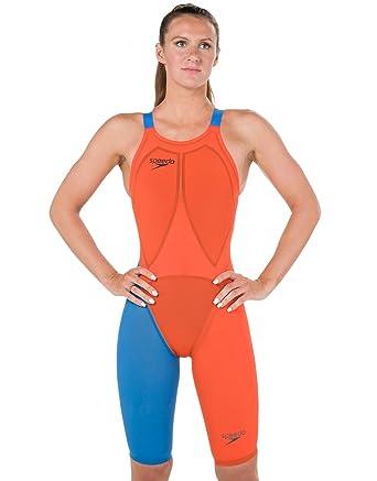 Modestile neueste kaufen UK-Shop Speedo LZR Racer Elite 2 Schwimmanzug Mit Bein Offenem ...