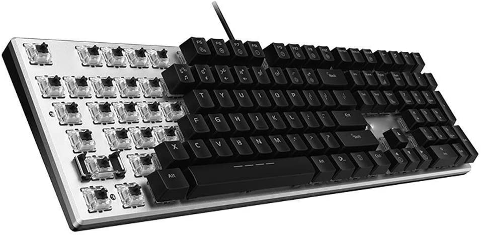 108 Key Mixed Light Backlit Keyboard USB Interface Tbagem-Yjr Game Mechanical Wired Keyboard
