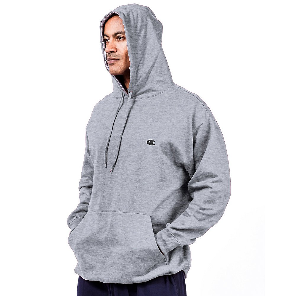 Champion Men's Big & Tall Fleece Pullover Hoodie at Amazon Men's ...