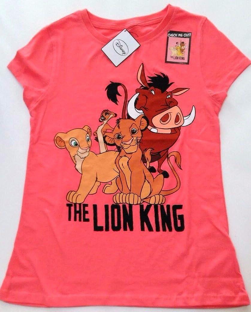 DISNEY BY PRIMARK - Camiseta - para mujer Rosa coral: Amazon.es: Ropa y accesorios
