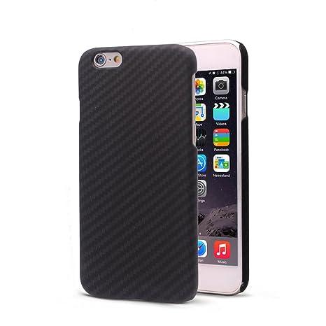 Funda iPhone 6s/6, FANSONG Ultra Ligero Funda Carcasa Fibra de Carbono La Textura Funda para Apple iPhone 6s/6