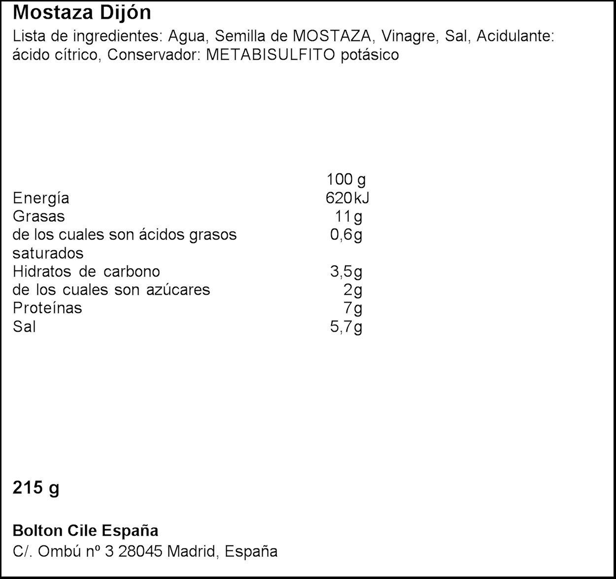 Maille - Mostaza Dijon Original 215 g - [pack de 3]: Amazon.es: Alimentación y bebidas