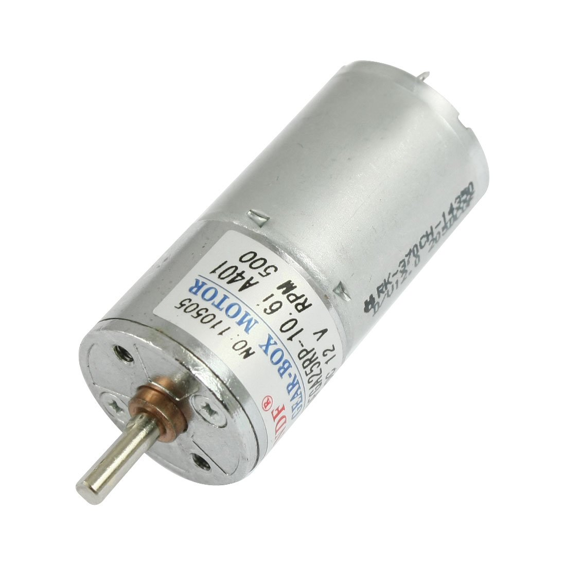 uxcell DC 12V 45mA 500RPM 0.33Kg-cm High Torque Permanent Magnetic Gear Motor by uxcell (Image #1)