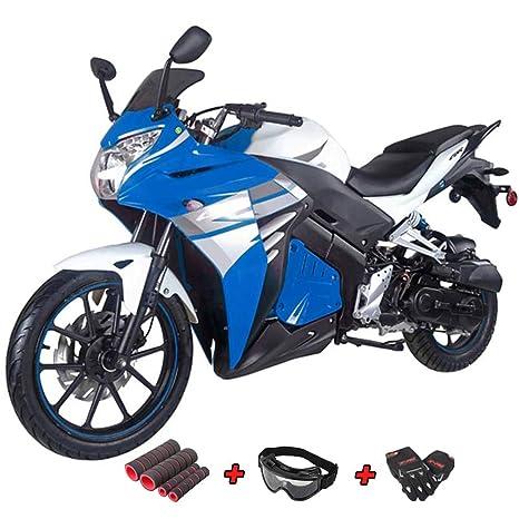Amazon.com: Scooter de 50 cc, ciclomotor de gas para ...