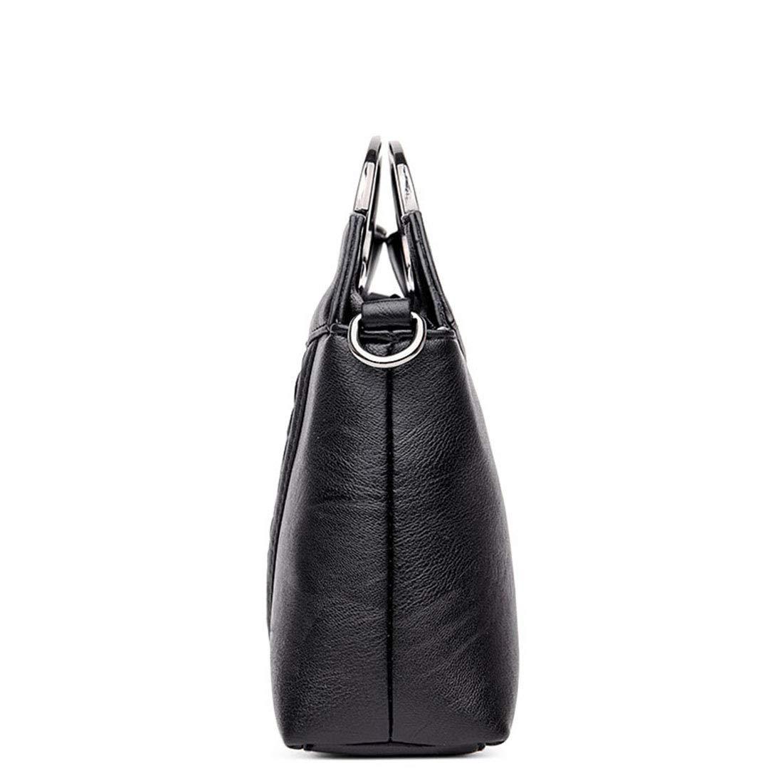 Karidesh Unisex Top Griff Griff Griff Satchel Handtasche und Handtasche Tasche Daily Work Schulter Tasche (Farbe   schwarz) B07P2VMK8N Herrentaschen 6370dc