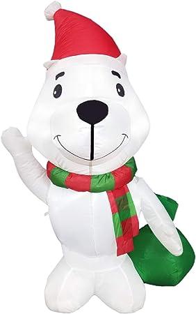 Amazon.com: Dreamone - Oso hinchable de Navidad para ...