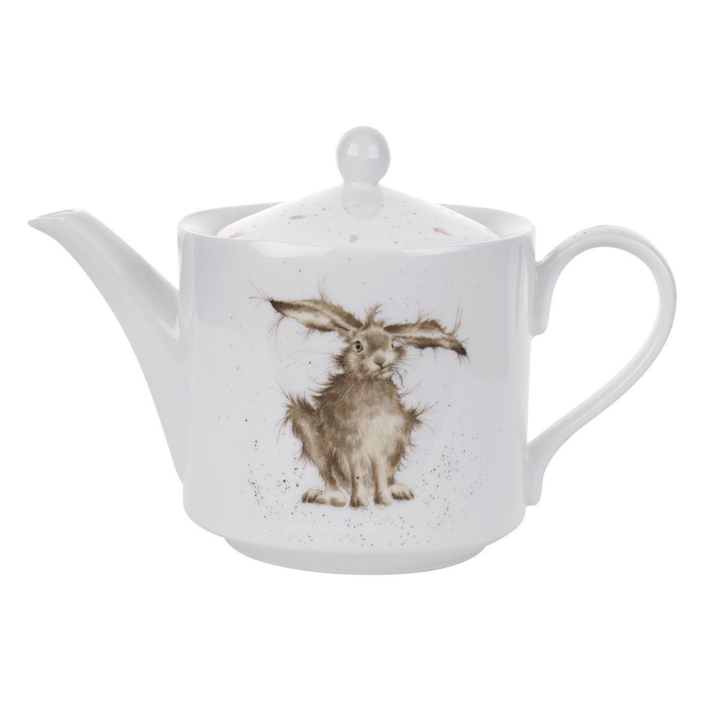 Wrendale by Royal Worcester Hare Teapot WN3924-XT