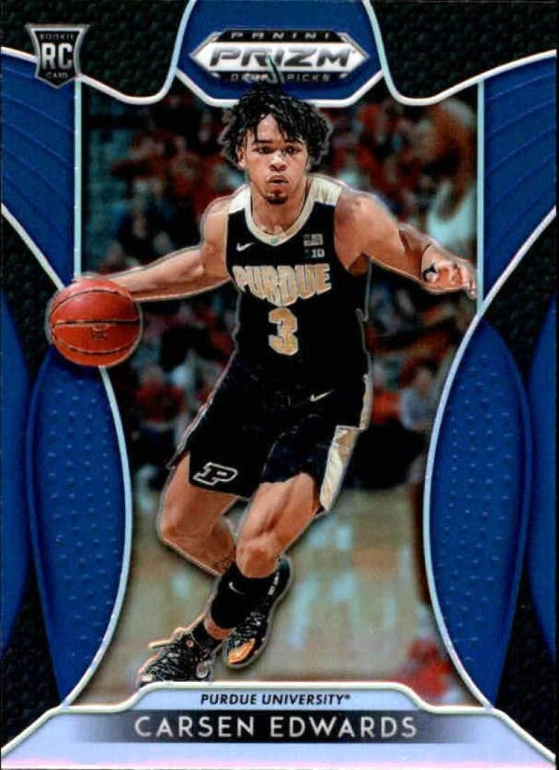 2019-20 Panini Contenders Draft Picks Game Day Tickets #29 Carsen Edwards Purdue Boilermakers Basketball Card
