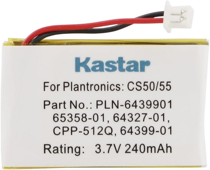 64399-01 Battery for Plantronics CS50 Savi 420 CS351N WH350, HL10 CS361N VINTRONS Plantronics CS50 65358-01 CS510 Savi 710 CS55 Savi Office WH300 Savi 720 CS60 64327-01 C351N Savi 410