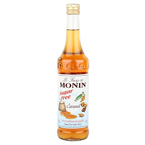 Monin Sugar Free Caramel Syrup 700ml Amazon In Grocery Gourmet Foods