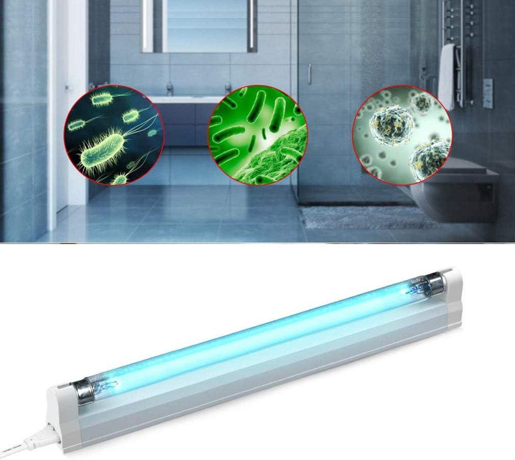 ZXY Cuarto de baño de la lámpara UV, Tubo 8W AC acaricida Uvc LED Insecticida UV Ozono Cuarzo Inicio Kinder Escuela Mite La eliminación de la lámpara (0,3 Metros)
