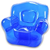 Inflatable Bubble Chair, Ocean Blue