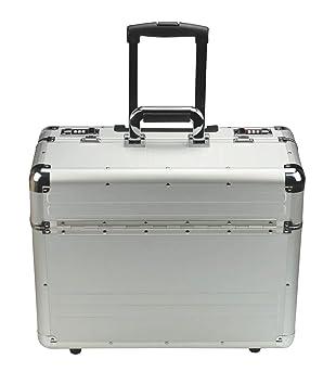Alumaxx Trolley Omega - Maletín con ruedas de aluminio: Amazon.es: Equipaje