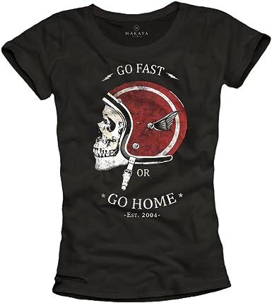 t-shirt tête de mort femme 9