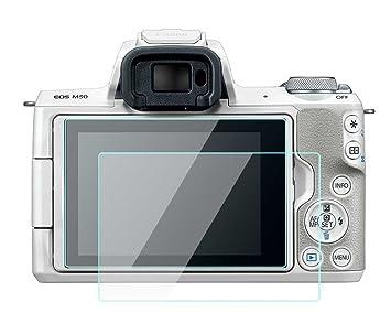 Komet Canon EOS M50 M100 M6 - Protector de pantalla táctil para Canon EOS M50, M100 y M6 (2 unidades): Amazon.es: Electrónica