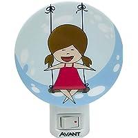 LED Luz Noturna Menina Bivolt, Avant, 151050576, 1W