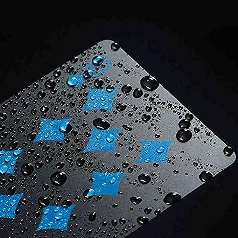 Amazon.com: Impermeable jugando a las cartas, PVC creativa ...