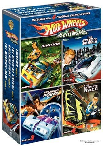 Hot Wheels Acceleracers Dvd Boxed Set 4 Pack Various