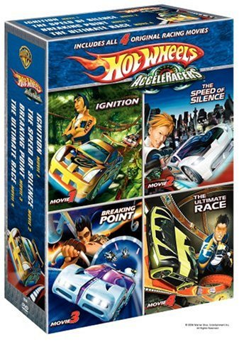 (Hot Wheels Acceleracers Boxed Set (Ignition / The Speed of Silence / Breaking Point / The Ultimate Race))