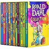 羅爾德達爾英文原版全集15冊套裝Roald Dahl女巫好心眼兒圓夢巨人了不起的狐貍爸爸查理和巧克力工廠魔法手指 BFG [平裝] Roald Dahl