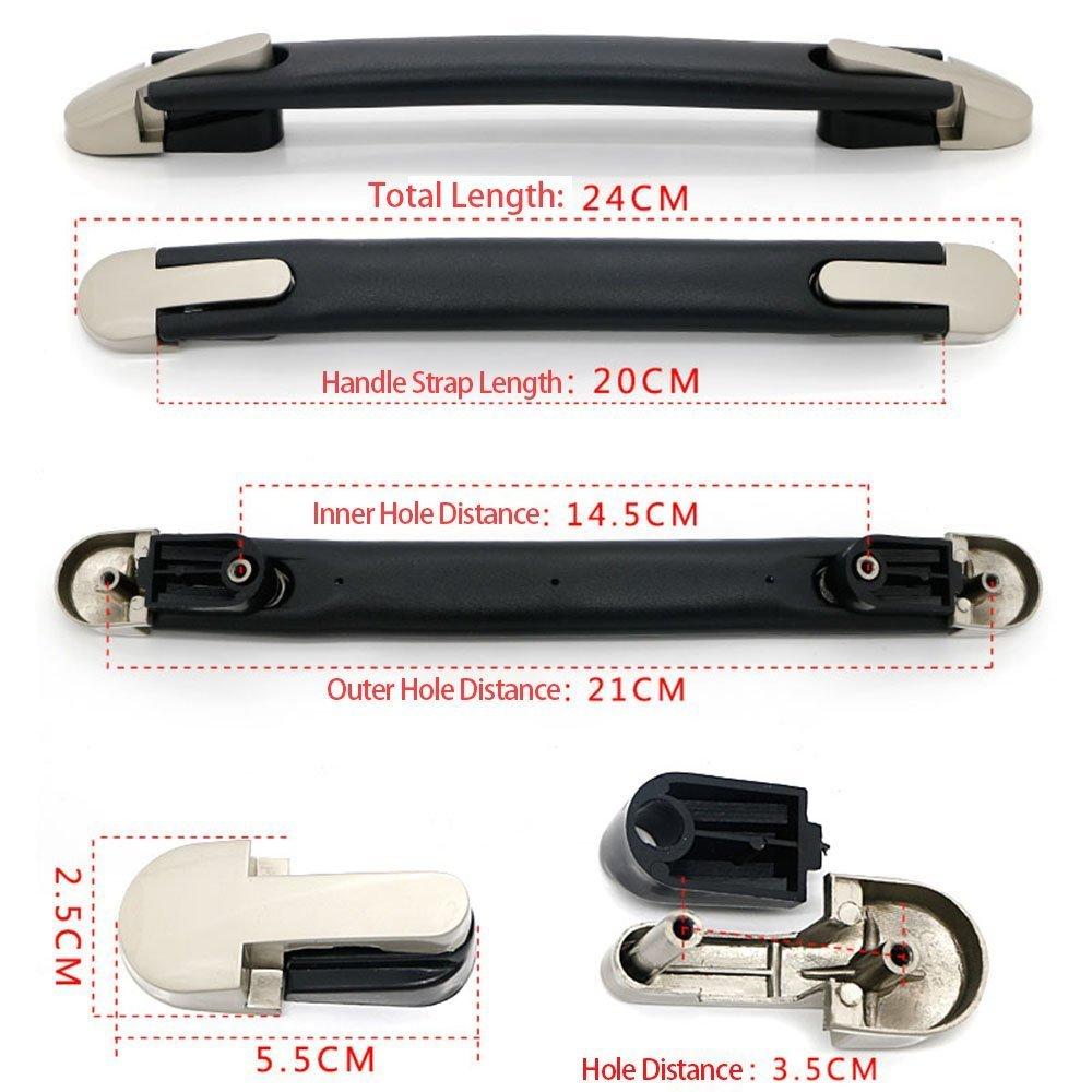 /Mango de Repuesto sgerste maleta equipaje Caso pl/ástico 20/cm correa de repuesto Flexible/