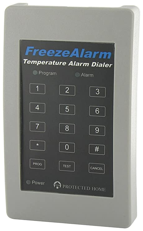 Control Products FreezeAlarm Dialer Temperature Alarm FA-700 with 1 phone voice message notification / monitor for low or high temperature extremes / ...