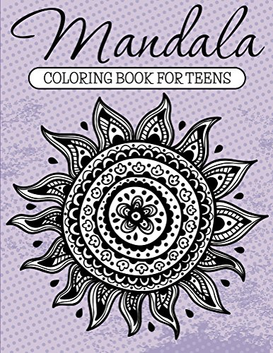 Printable Butterfly - Mandala Coloring Book For Teens: Adult