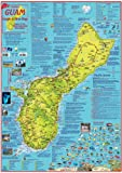 Guam Map & Dive Guide Franko Maps Waterproof Map