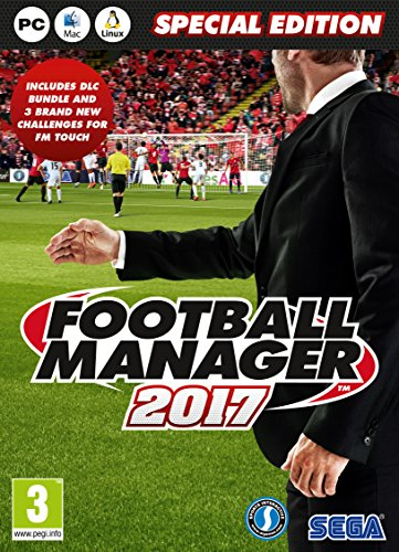 - Football Manager 2017 Limited Edition (PC DVD)