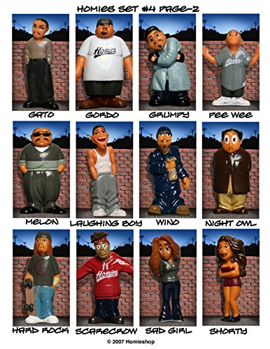 Homies Series 4 Figurine / GATO : Everything Else