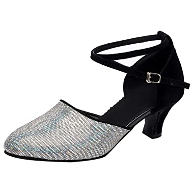 a8379ada5484 Seaintheson Dance Shoes for Women