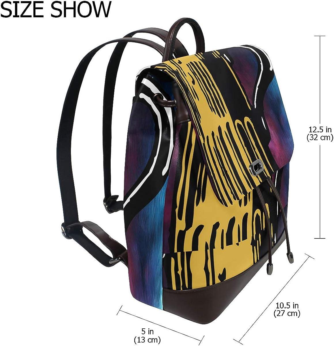 PU Leather Shoulder Bag,Beer Mug Backpack,Portable Travel School Rucksack,Satchel with Top Handle