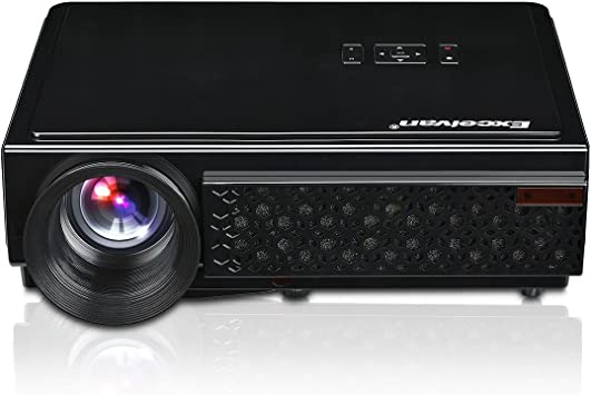 Excelvan 96+ - Proyector LED., negro, LED 96+ N: Amazon.es ...