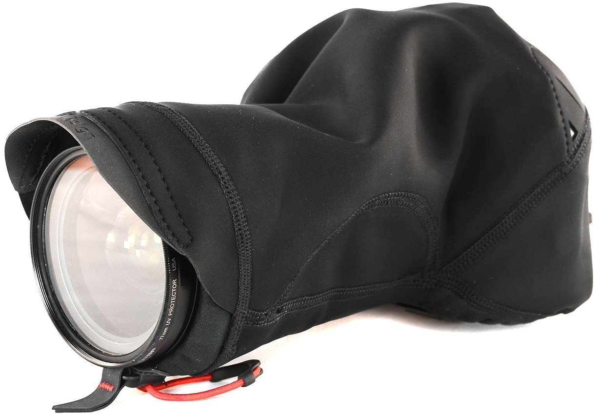Peak Design Black Shell Large Form-Fitting Rain and Dust Cover