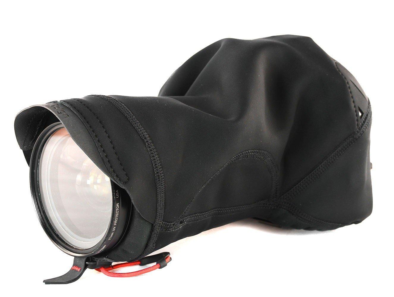 Peak Design Black Shell Medium Form-Fitting Rain and Dust Cover by Peak Design