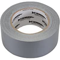Fixman 188824 Super Heavy Duty Silver Duct Tape 50mm x 50m