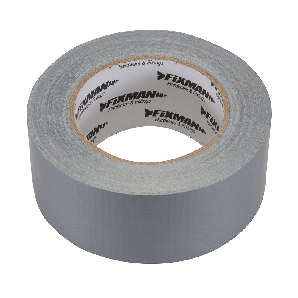 Fixman 190229 Super Heavy Duty White Duct Tape 50mm x 50m