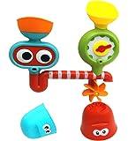 Brigamo 16003 - Wasseraktivitäts-Station, hochwertiges Kleinkindspielzeug für die Badewanne, Badespielzeug ab 12 Monate