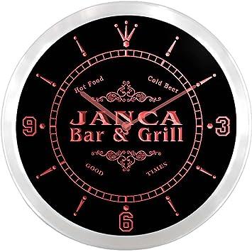 ncu21872-r JANCA cartel de barra para pantalones y parrilla ...