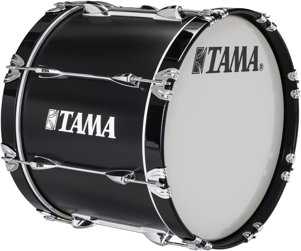 Tama Marching Starlight Bass Drum 28 x 14 in. Black by Tama Marching
