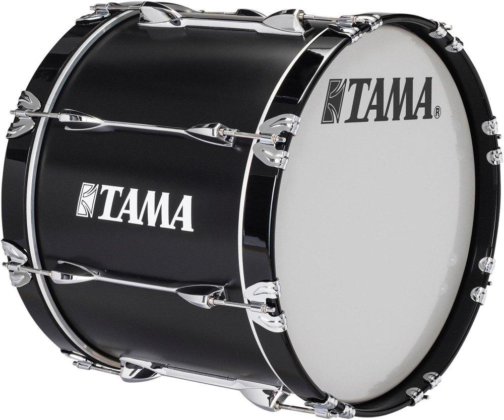 Tama Marching Starlight Bass Drum 18 x 14 in. Black